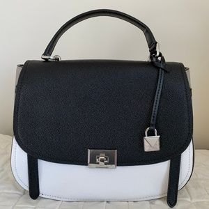 Michael Kors Cassie Lg Top Handle Satchel